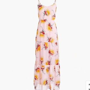 J. Crew Mercantile tiered maxi dress